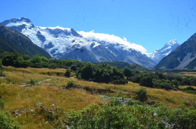Mount Cook in all its glory and majesty