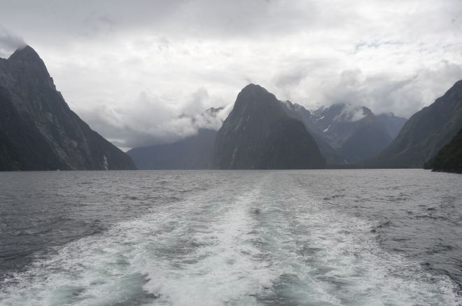 Our final views of Milford Sound