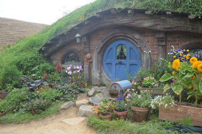 The Hobbit houses of Hobbiton