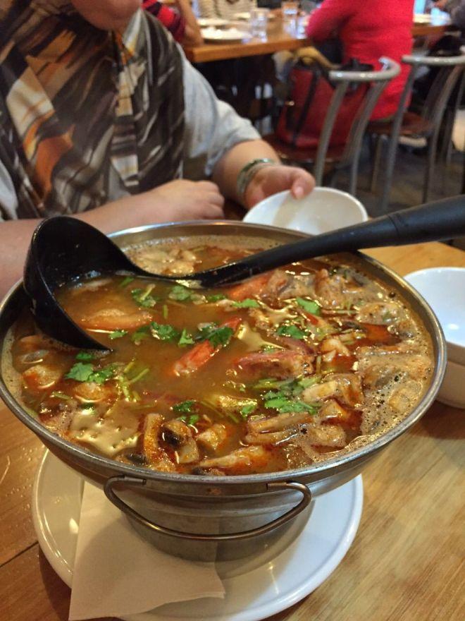 The Tom Yum Soup